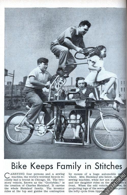Sokoldalú bicikli