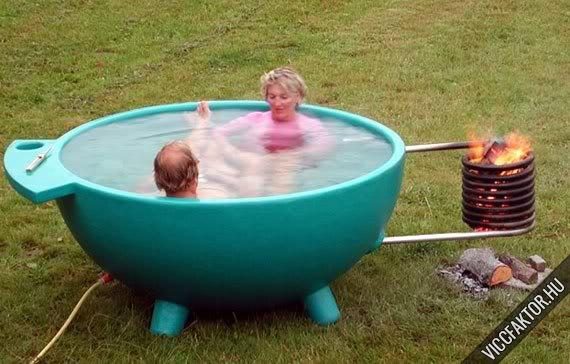 Melegítős kerti medence