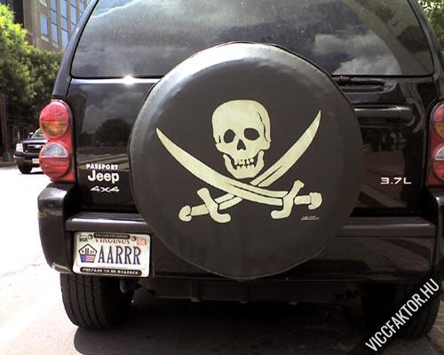 Kalóz Jeep